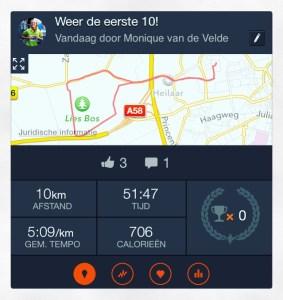 strava 10 kilometer rennen