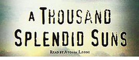 Book Review: A Thousand Splendid Suns, Khaled Hosseini (1/3)