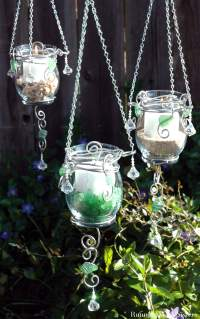 Summer Lights: Make A Trio of Hanging Candle Holders