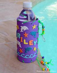 Kid Craft! Make Your Own Water Bottle Holder - Running ...