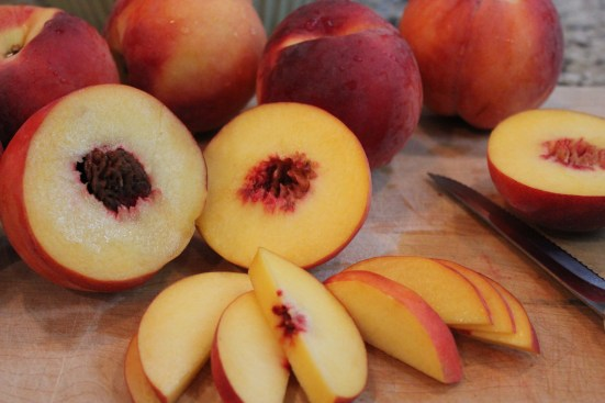 Peaches from Daddy's Market