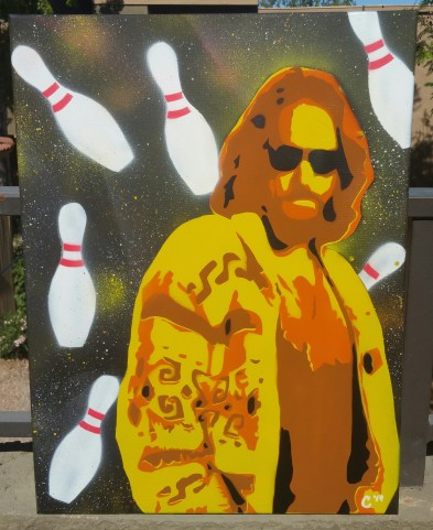 """The Dude"" - Spray Paint"
