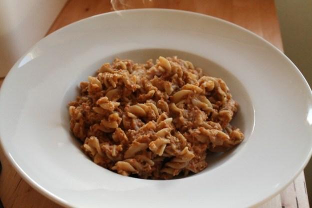 Weekly Eats- Eggplant Pasta Bowl
