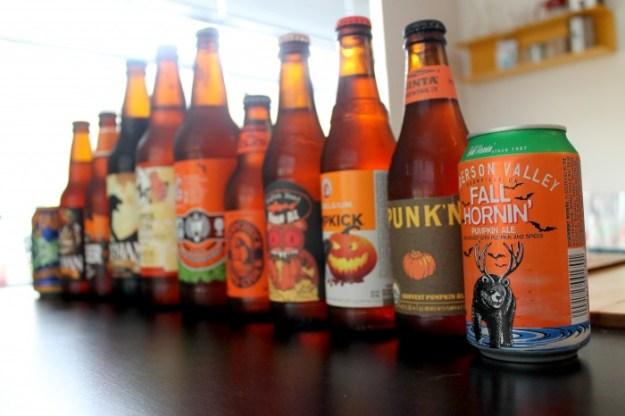 Pumpkin Beer Tasting 2014 - Beer