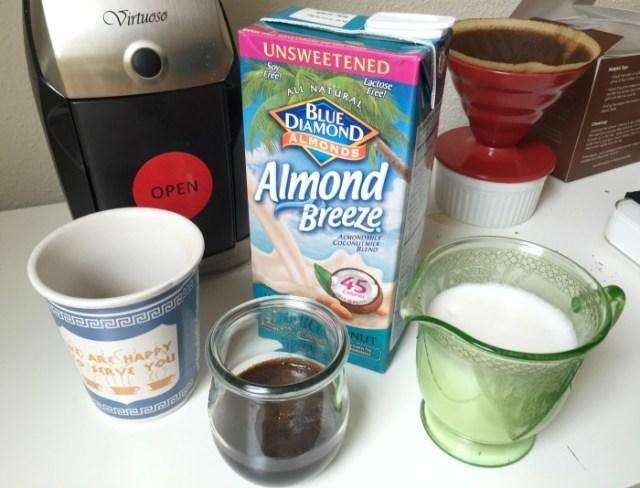 Almond Breeze Latte 1
