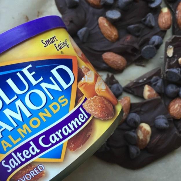 Blue Diamond Almonds Salted Caramel Bark instagram
