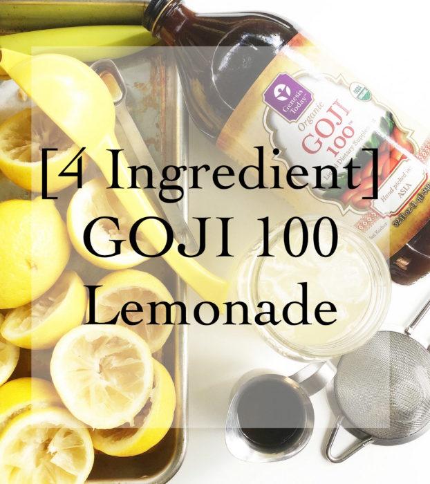 Goji Lemonade
