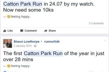 Catton Park Run is a semi-regular part of my training when I can get there says Runnorfolk blogger Shaun Lowthorpe