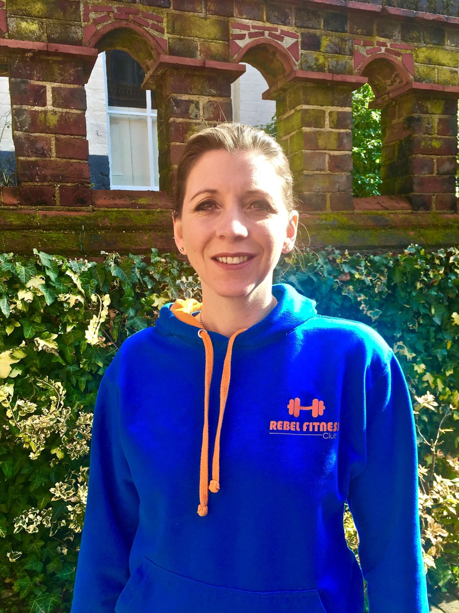 Beckie Clarke founder of Run 0 to 30 minutes is a rebel with a cause – to help people in Norfolk get into running