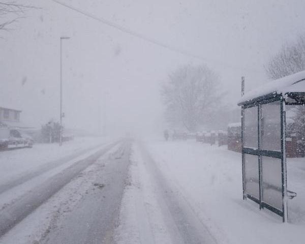 Snow keeps many runners indoors across Norfolk