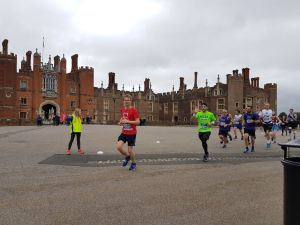 Happy Days! The route takes in Hampton Court Palace which is bound to keep the wife happy