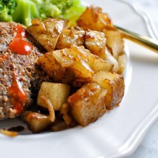 Onion Soup Roasted Potatoes Side