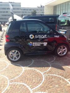 Maratona di Roma smart car