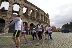The Roman Guy Shakeout Tour Maratona di Roma