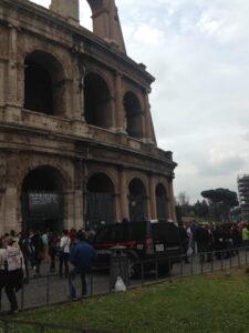 The Roman Guy, Rome Italay, Colosseum, March 22, 2014, Maratona di Roma