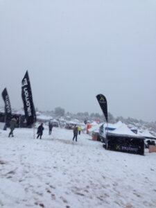 More snow Ragnar Trail Zion