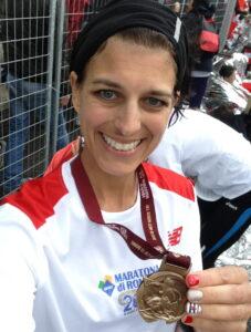 Post Race Medal Shot