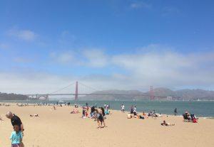 Golden Gate Bridge, San Francisco, California, Chrissy Field