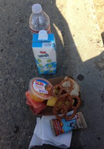 Ventura Marathon, Half Marathon, Post Race Eats, Clif Bars, Dole Fruit Cups, Refresh Coconut Water, Ventura, California