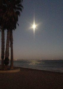 Ventura Beach Moon