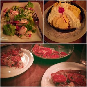 Lou Malnati's, Chicago, The Lou, Deep Dish Pizza, Chocolate Chip Cookie Pizza, Malnati Salad