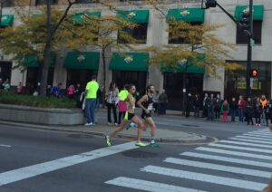 Amy Hastings, Chicago Marathon, 2014