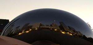 Sunrise, Bean, Chicago Marathon, 2014