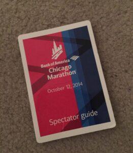 Chicago Marathon, 2014, Spectator Guide