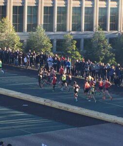 Elite Start, Chicago Marathon, 2014