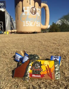 Hot Chocolate 15k, Salt River Fields, Ram Racing, Phoenix, Scottsdale, Arizona, Race Medal