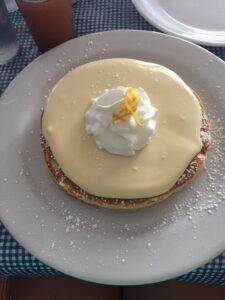 Lilikoi, Pancakes, Moke's Bread & Breakfast, Kailua, O'ahu, Best Breakfast