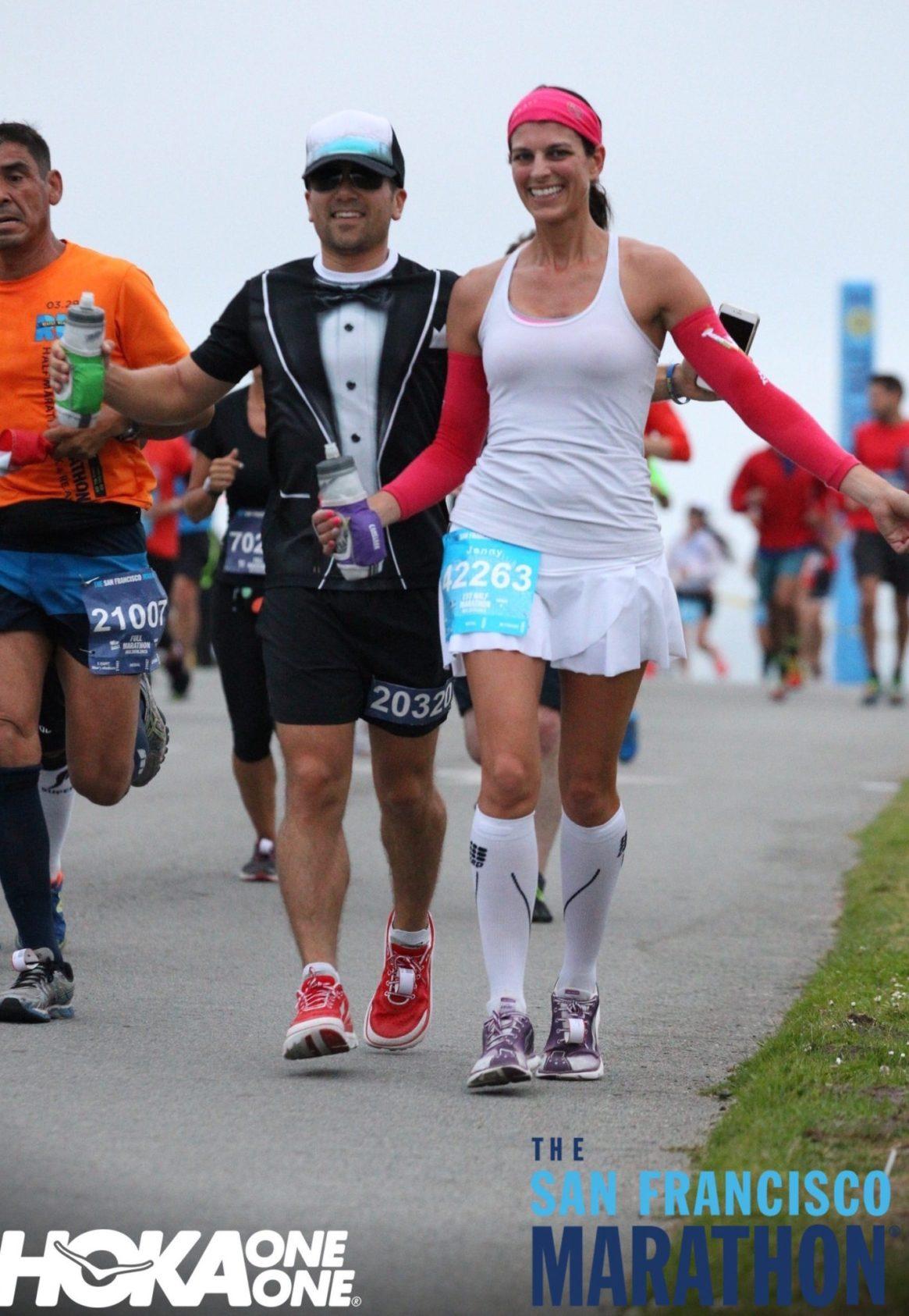 SF Marathon, Chrissy Field, 1st Half Marathon, Lululemon, Buff USA