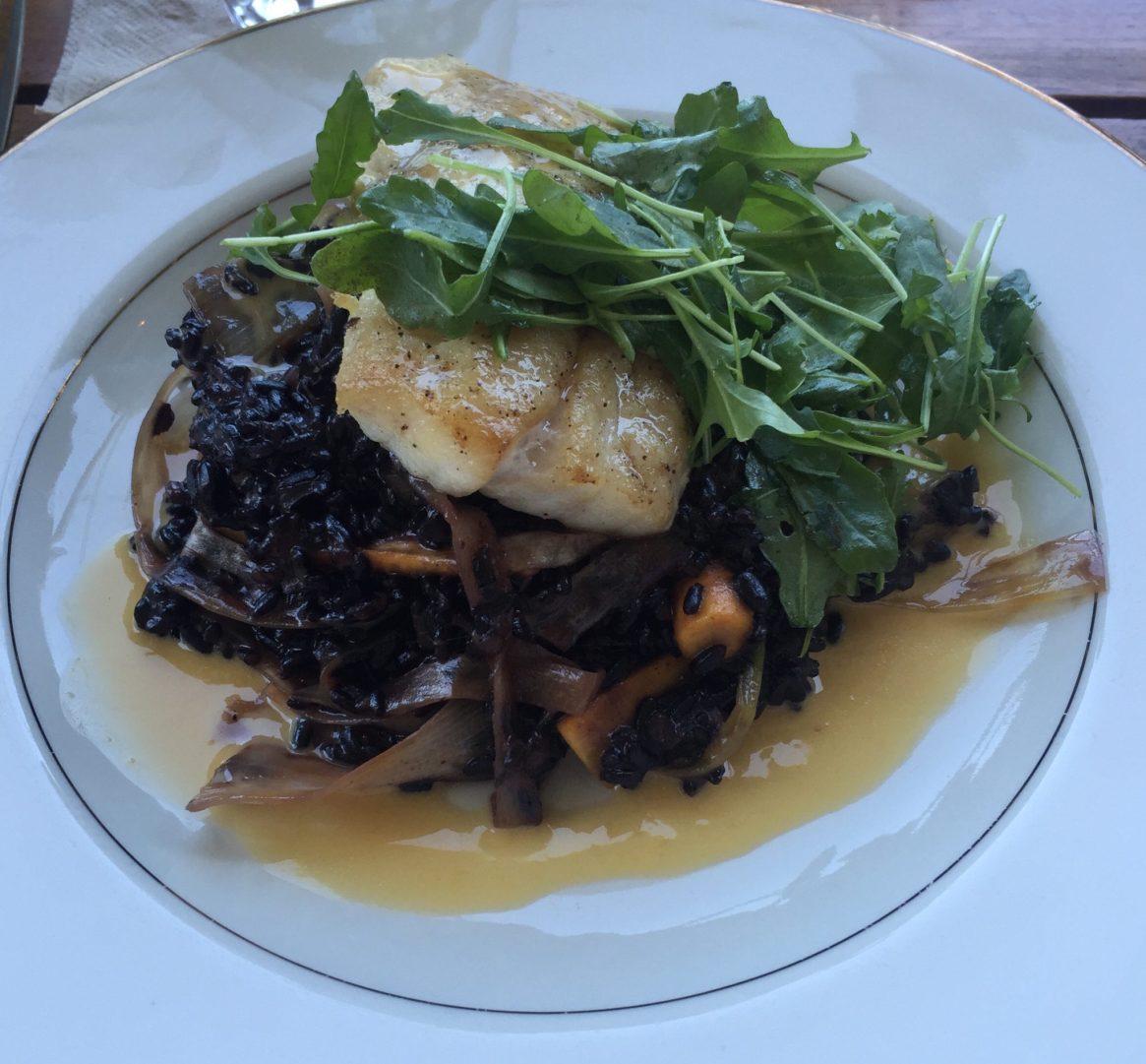 The Plant Cafe, Pier 3, San Francisco, Cod, Black Rice