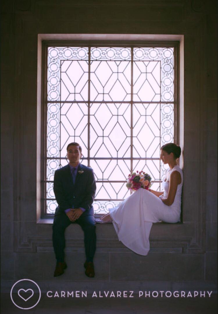 San Francisco City Hall, People's Palace, Carmen Alvarez Photography, San Francisco, 3rd Floor, Fancy Windows, SF Wedding