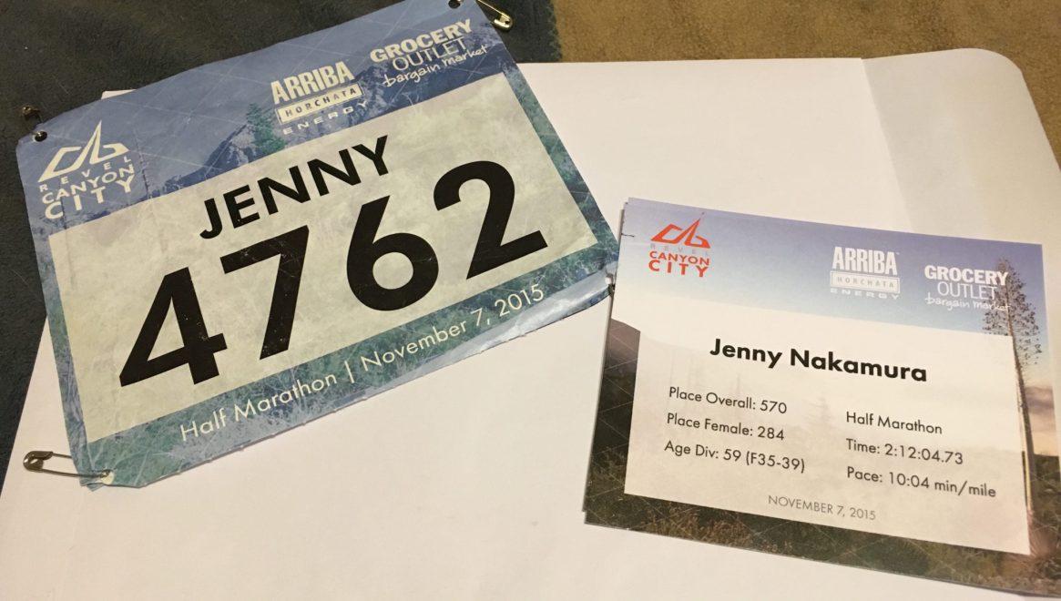 Run Revel, Revel Canyon City, Los Angeles, California, half marathon, Azusa, Finish Line, Race Bib, Race Stats