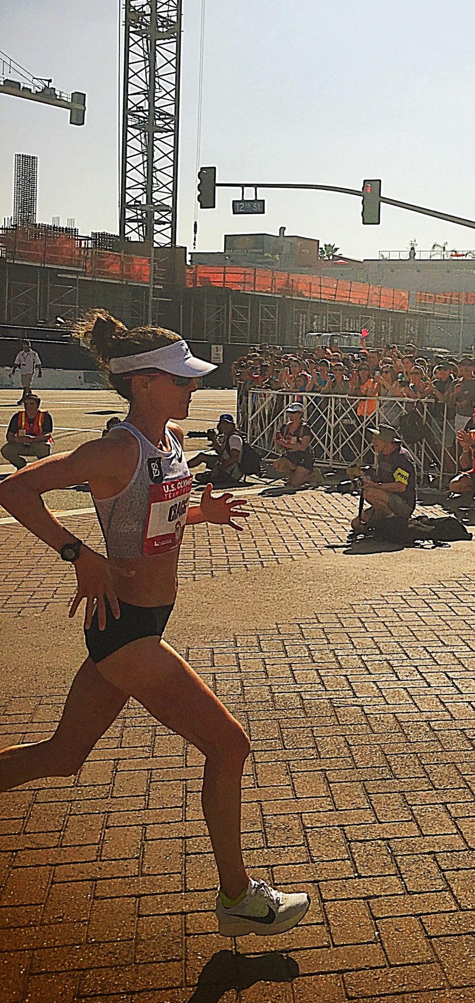 Amy Cragg, Hasty Hastings, Olympic Trials, Marathon, LA2016