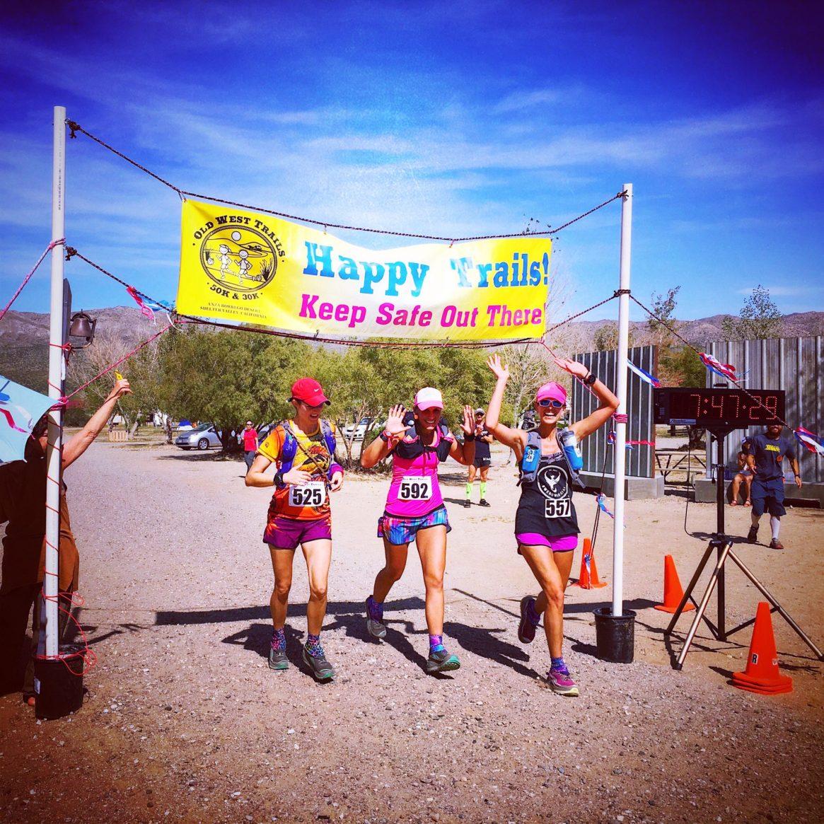 Old West 50k, ultra running, trail running, desert