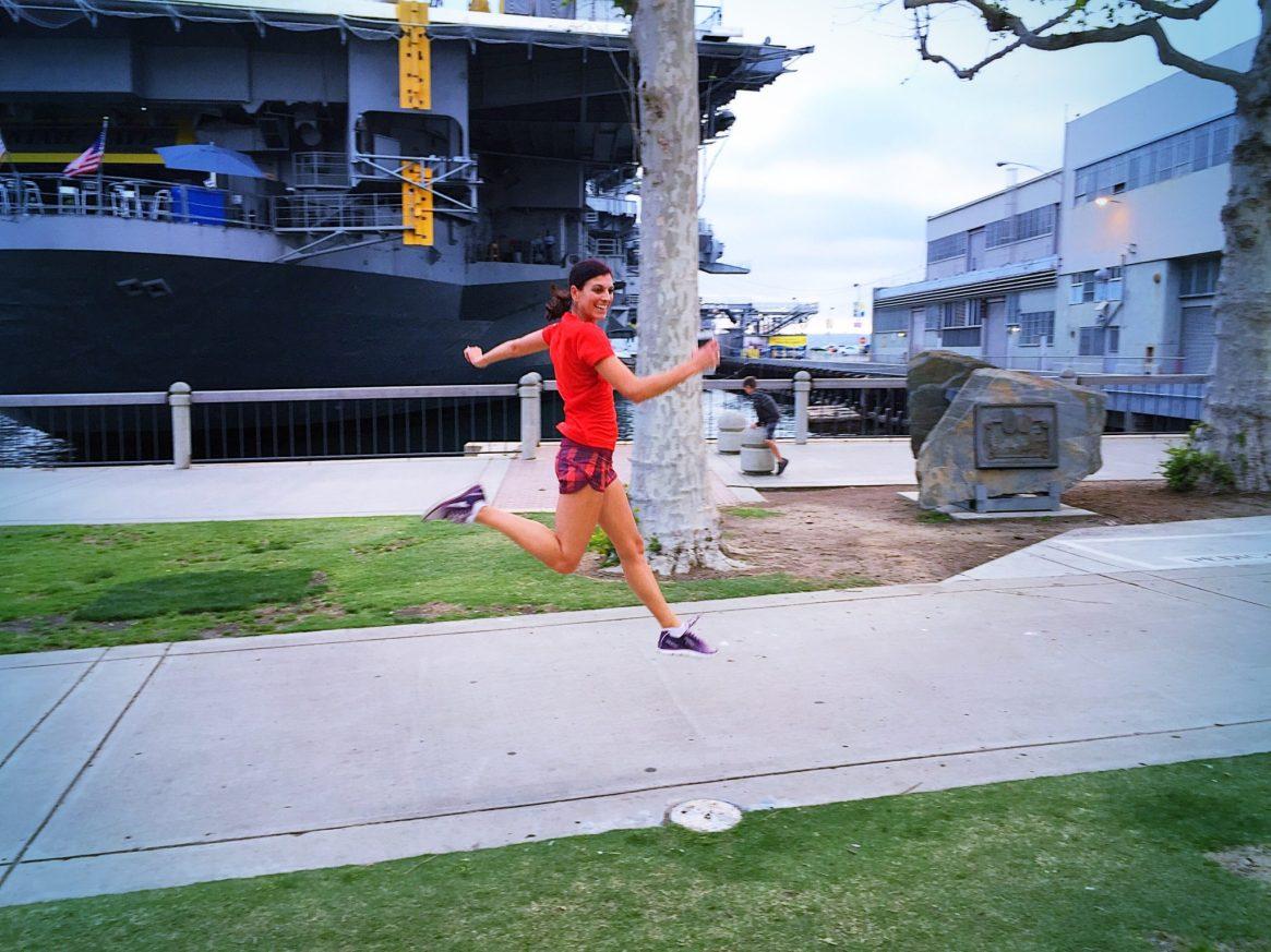 San Diego, Harbor, USS Midway, Altra Running, Shakeout Run
