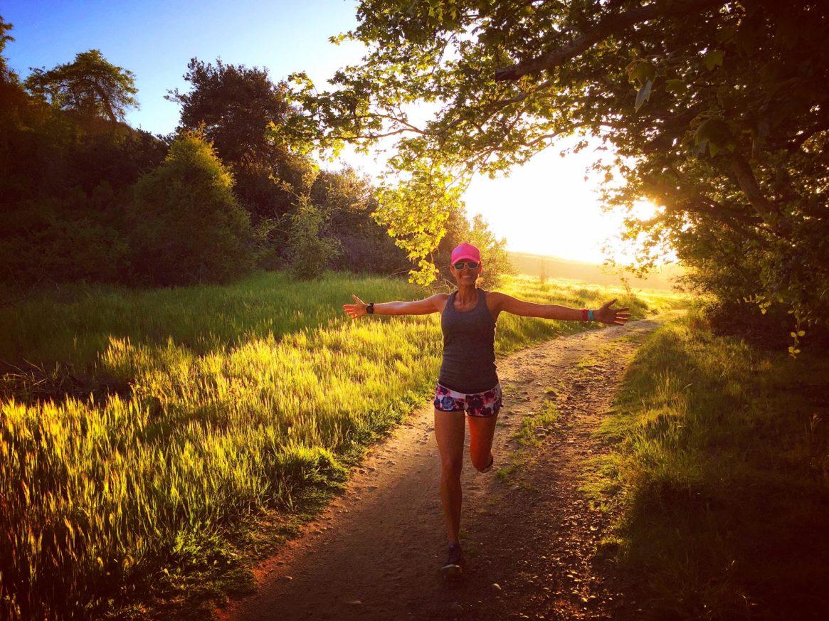 Trail Run, los penasquitos, date night, runner girl, sunset run, altra running, running 4 those who can't