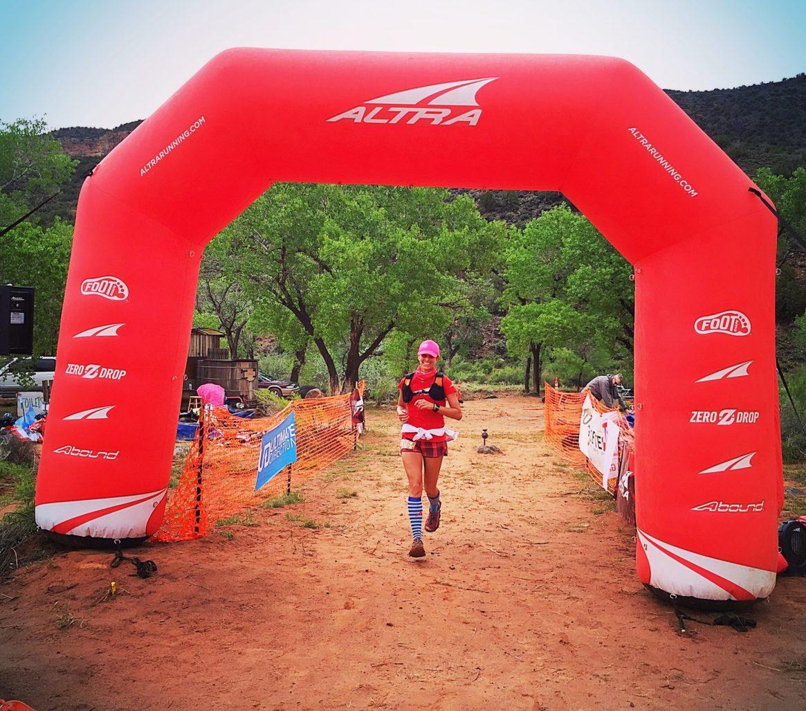 Zion, Half Marathon, Finish Line, Altra, Procompression, Running 4 Those Who Can't, Orange Mud