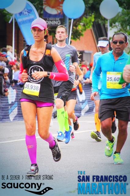 The SF Marathon, Running4thosewhocan't, Orange Mud, XX2i, Lululemon, We Run Social
