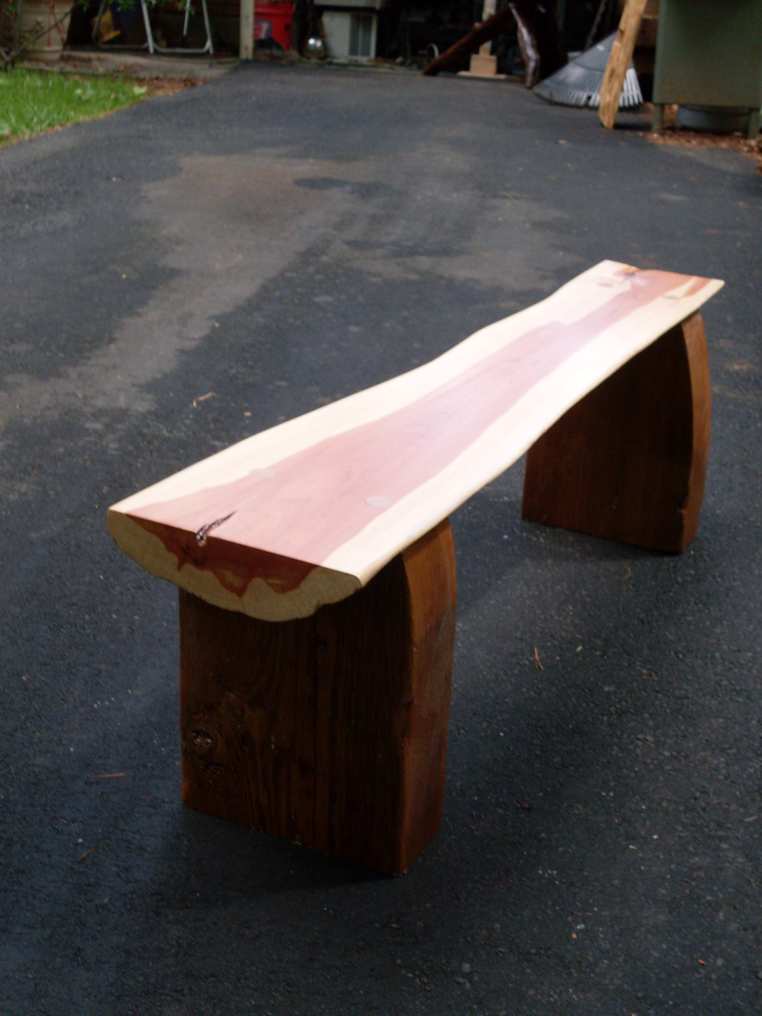 Diy Log Bench Plans Download Woodworking Small Projects