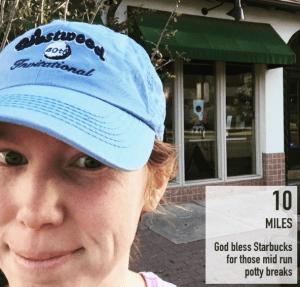 running 10 miles