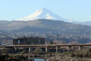 Mt. Hood from The Dalles