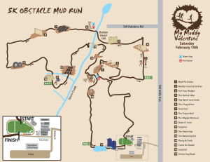 My Muddy Valentine Course Map  (c) Terrapin Events