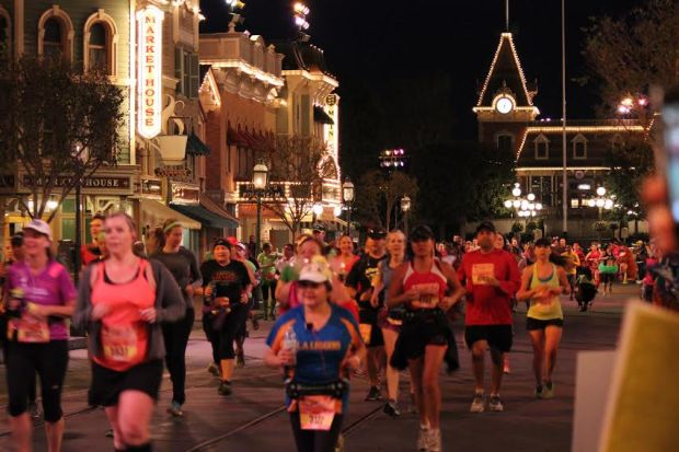 Running through Disney seems like the best thing ever! - Photo by Susan Cooke