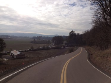 Top of the first 1/3 mile climb. Pacing was crucial! - Photo courtesy of Matt Rasmussen