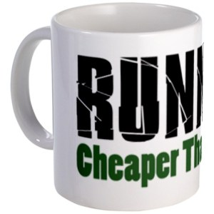 running_cheaper_than_therapy_mug