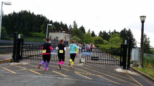 The Water Reservoir Building at the Rad 80's Run