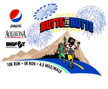 Aquafina Butte to Butte, 7/4/2014 (Eugene, Oregon) Presented by the Oregon Track Club